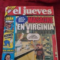 Coleccionismo de Revista El Jueves: REVISTA EL JUEVES (AÑO XXX•N° 1561). Lote 212300358