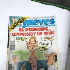 Coleccionismo de Revista El Jueves: EL JUEVES 744 - 28 AGOSTO A 3 SEPTIEMBRE 91 - EL PRINCIPE COMPUESTO Y SIN NOVIA - TEJEROV YANAEV. Lote 213557851