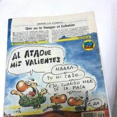 Coleccionismo de Revista El Jueves: EL JUEVES PRESENTA PUTA MILI NÚMERO 67 + POSTER ARENSIVIA EL SARGENTO DE HIERRO. Lote 213562982