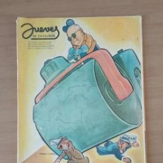 Coleccionismo de Revista El Jueves: JUEVES DE EXCELSIOR REVISTA NÚMERO 1346 DEL 3 DE MARZO DE 1949. Lote 213789015