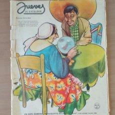 Coleccionismo de Revista El Jueves: JUEVES DE EXCELSIOR REVISTA NÚMERO 1347 DEL 10 DE MARZO DE 1949. Lote 213789282