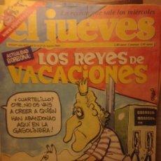 Collectionnisme de Magazine El Jueves: EL JUEVES NUMERO 1317 - 21 AL 27 AGOSTO 2002 - LOS REYES DE VACACIONES. Lote 214148486