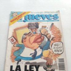 Coleccionismo de Revista El Jueves: REVISTA EL JUEVES (AÑO XV, DEL 20 AL 26 DE NOVIEMBRE DE 1991, N° 756). Lote 214492103
