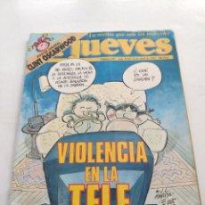 Coleccionismo de Revista El Jueves: REVISTA EL JUEVES (AÑO XVII, 14 DE ABRIL DE 1993, N° 829). Lote 214492598