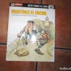 Collectionnisme de Magazine El Jueves: NUEVOS PENDONES DEL HUMOR Nº 58, MARTINEZ EL FACHA ,VACACIONES EN EL PUEBLO, EL JUEVES. Lote 214704383