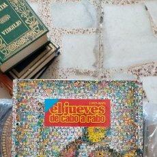 Coleccionismo de Revista El Jueves: EL JUEVES. ESPECIAL COLECCIONISTA 30 AÑOS. EL JUEVES DE CABO A RABO 1977-2007. 1ª EDICIÓN 2007. Lote 214924908