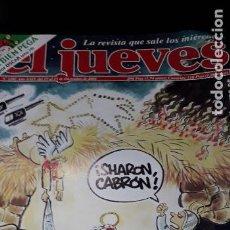 Coleccionismo de Revista El Jueves: REVISTA EL JUEVES 1282 POSTER NEIL YOUNG. Lote 215414791