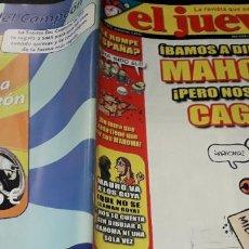 Coleccionismo de Revista El Jueves: REVISTA EL JUEVES 1498 POSTER BONO DE U2. Lote 215606803