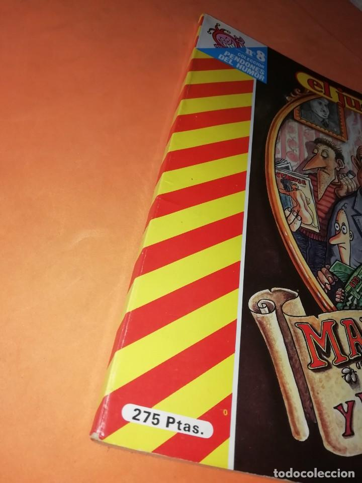 Coleccionismo de Revista El Jueves: MARTINEZ EL FACHA. KIM. EL JUEVES. PENDONES DEL HUMOR Nº 1, 8, 18 Y 25. - Foto 6 - 215614928