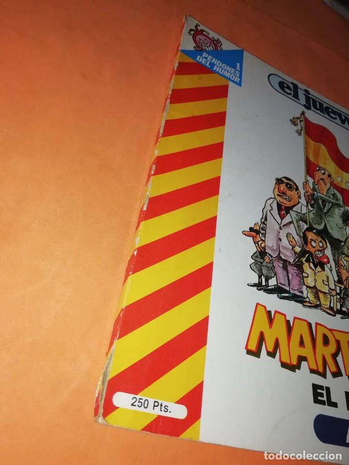 Coleccionismo de Revista El Jueves: MARTINEZ EL FACHA. KIM. EL JUEVES. PENDONES DEL HUMOR Nº 1, 8, 18 Y 25. - Foto 7 - 215614928