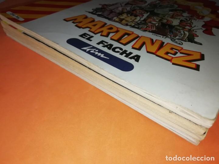 Coleccionismo de Revista El Jueves: MARTINEZ EL FACHA. KIM. EL JUEVES. PENDONES DEL HUMOR Nº 1, 8, 18 Y 25. - Foto 8 - 215614928