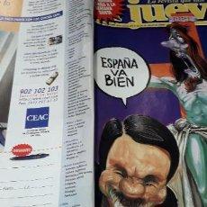 Coleccionismo de Revista El Jueves: REVISTA EL JUEVES 1089 POSTER SEMANA SANTA 98. Lote 216001827
