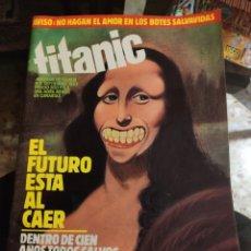 Coleccionismo de Revista El Jueves: REVISTA TITANIC (N° 3, SEPTIEMBRE 1983). Lote 217177972