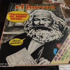Coleccionismo de Revista El Jueves: REVISTA EL JUEVES (AÑO III, DEL 10 AL 16 DE OCTUBRE DE 1979, N° 124). Lote 217178131