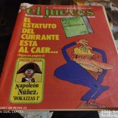 Coleccionismo de Revista El Jueves: REVISTA EL JUEVES (AÑO III, DEL 14 AL 20 DE NOVIEMBRE DE 1979, N° 129). Lote 217178245