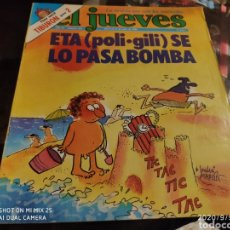 Coleccionismo de Revista El Jueves: REVISTA EL JUEVES (AÑO IV, DEL 9 AL 15 DE JULIO DE 1980, N° 163). Lote 217178448