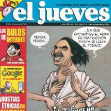 Coleccionismo de Revista El Jueves: REVISTA EL JUEVES NÚMERO 1634 (2008). Lote 217194150