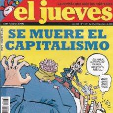 Coleccionismo de Revista El Jueves: REVISTA EL JUEVES NÚMERO 1639 (2008). Lote 217194505