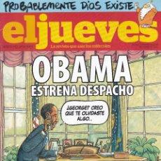 Coleccionismo de Revista El Jueves: REVISTA EL JUEVES NÚMERO 1652 (2009). Lote 217195433