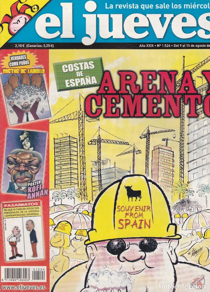 REVISTA EL JUEVES NÚMERO 1524 (2006) (Coleccionismo - Revistas y Periódicos Modernos (a partir de 1.940) - Revista El Jueves)