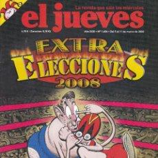 Coleccionismo de Revista El Jueves: REVISTA EL JUEVES NÚMERO 1606 (2008). Lote 217196153