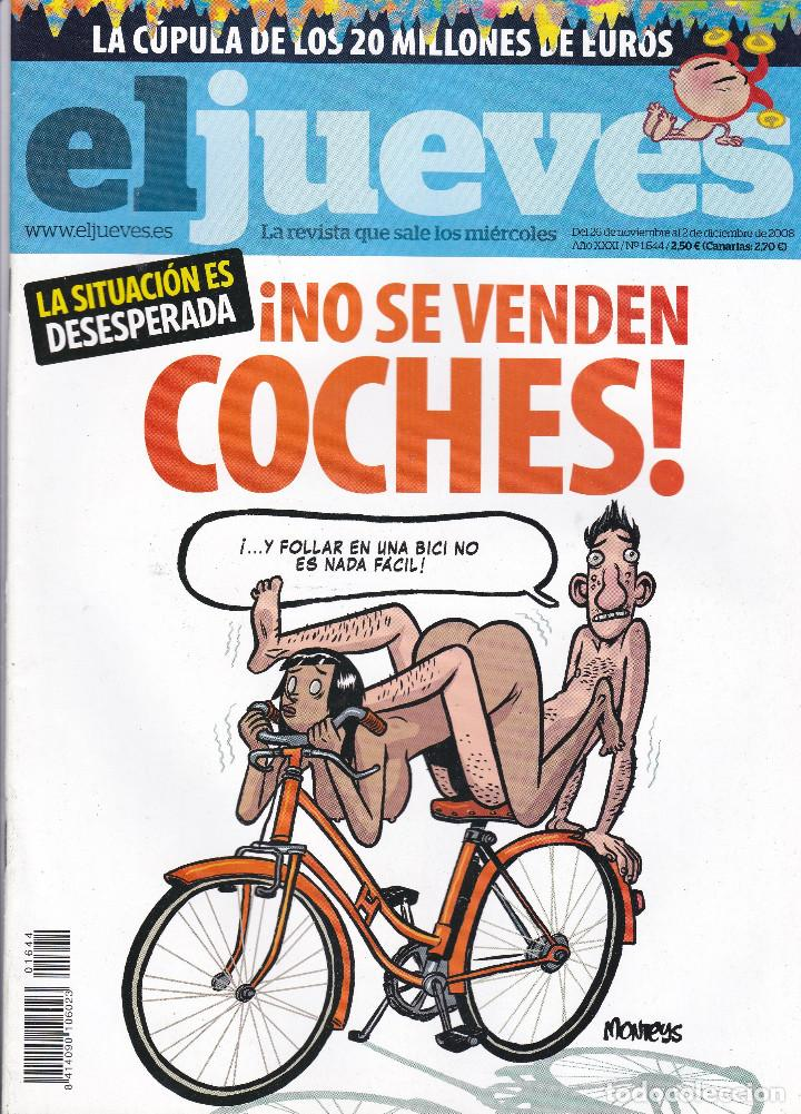 REVISTA EL JUEVES NÚMERO 1644 (2008) (Coleccionismo - Revistas y Periódicos Modernos (a partir de 1.940) - Revista El Jueves)