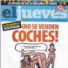 Coleccionismo de Revista El Jueves: REVISTA EL JUEVES NÚMERO 1644 (2008). Lote 217196678