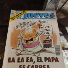Coleccionismo de Revista El Jueves: REVISTA EL JUEVES (AÑO XV, DEL 9 AL 15 DE OCTUBRE DE 1991, N° 750). Lote 217498237