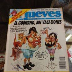 Coleccionismo de Revista El Jueves: REVISTA EL JUEVES (AÑO XVII, DEL 4 AL 10 AGOSTO DE 1993, N° 845). Lote 217498376