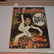 Coleccionismo de Revista El Jueves: EL JUEVES. FIEBRE DE TODAS LAS NOCHES. 7 DE JUNIO DE 1978. AÑO II. NÚM 54.. Lote 217711816