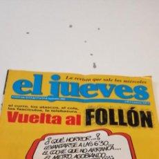 Coleccionismo de Revista El Jueves: C-3 LIBRO REVISTA EL JUEVES. VUELTA AL FOLLON. Nº 1373. SEPTIEMBRE. 2003. Lote 218054970