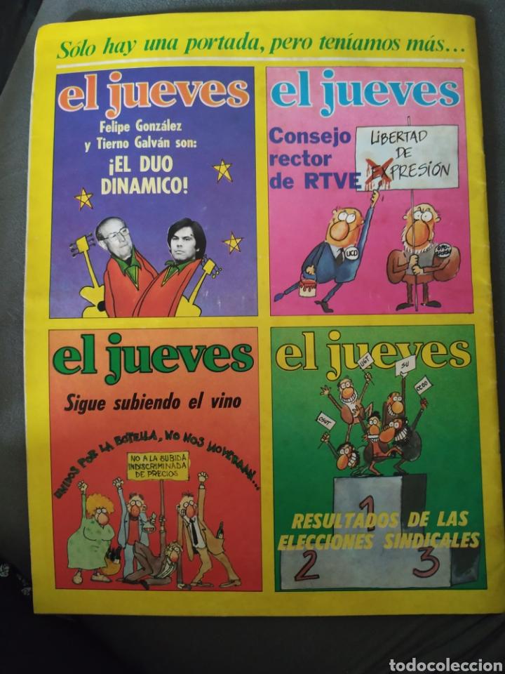 Coleccionismo de Revista El Jueves: El jueves, año II, número 38, 10 de febrero de 1978, buen estado - Foto 2 - 218110420