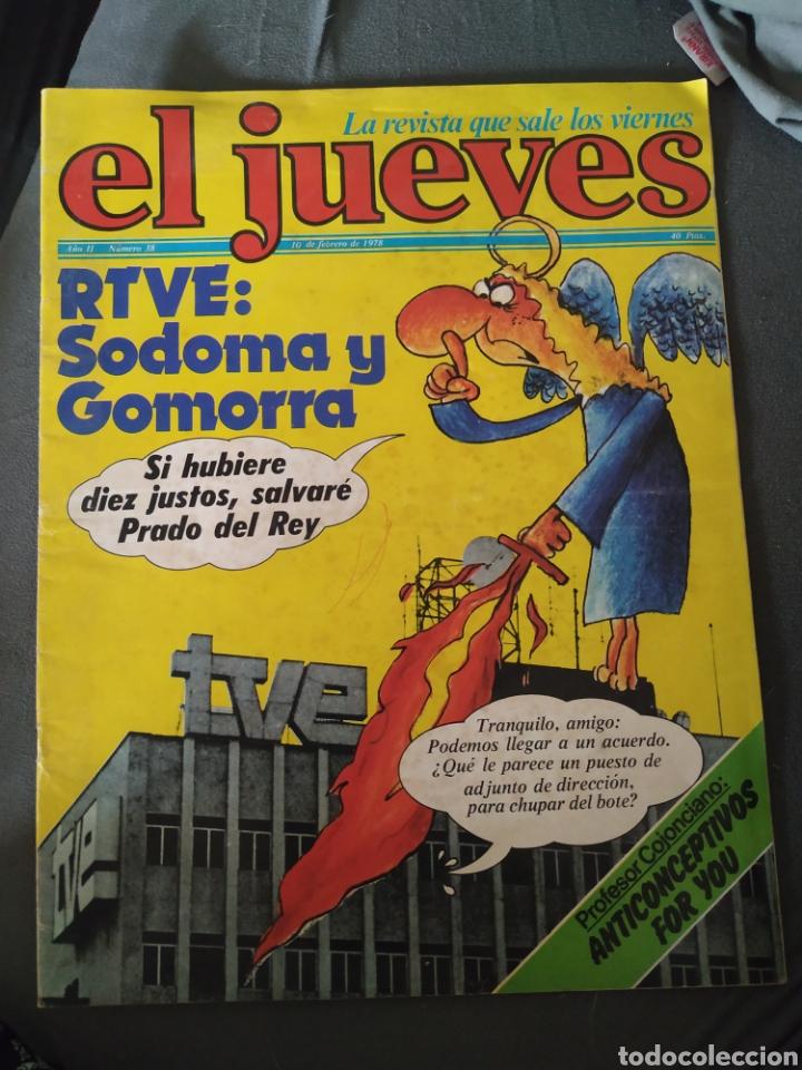 EL JUEVES, AÑO II, NÚMERO 38, 10 DE FEBRERO DE 1978, BUEN ESTADO (Coleccionismo - Revistas y Periódicos Modernos (a partir de 1.940) - Revista El Jueves)