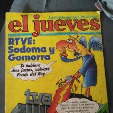 Coleccionismo de Revista El Jueves: EL JUEVES, AÑO II, NÚMERO 38, 10 DE FEBRERO DE 1978, BUEN ESTADO. Lote 218110420