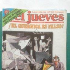 Coleccionismo de Revista El Jueves: EL JUEVES NÚMERO 226 - 23 A 29 SEPTIEMBRE 1981 - EL GUERNICA ES FALSO - POSTER GERNIKA PICASSO -. Lote 218322121