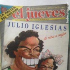 Coleccionismo de Revista El Jueves: EL JUEVES NÚMERO 222 26 AGO 1 SEPT 1981 - JULIO IGLESIAS DE ÑIÑA A MUJER - POSTER DOLARES. Lote 218335432