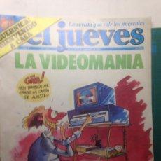 Coleccionismo de Revista El Jueves: EL JUEVES NÚMERO 225 16 AL 22 SEPT 1981 - LA VIDEOMANIA - GUERNICA BIENVENIDO A CASA - POSTER OTAN. Lote 218335530