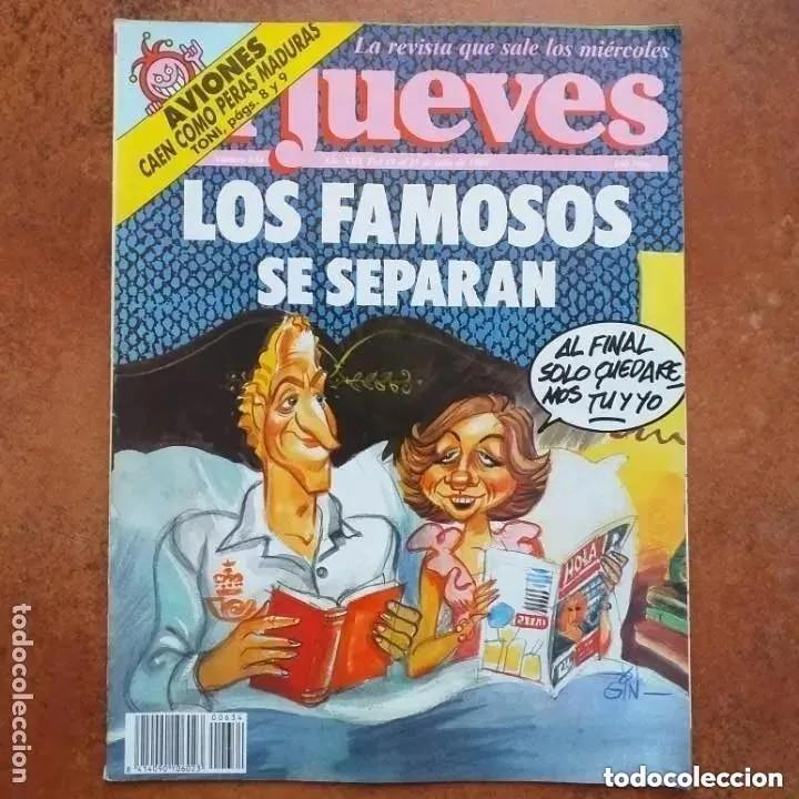EL JUEVES NUM 634. LOS FAMOSOS SE SEPARAN (Coleccionismo - Revistas y Periódicos Modernos (a partir de 1.940) - Revista El Jueves)