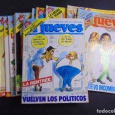 Coleccionismo de Revista El Jueves: LOTE DE 15 REVISTAS JUEVES. Lote 218666093