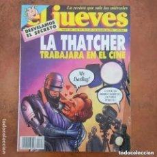 Coleccionismo de Revista El Jueves: EL JUEVES NUM 706 LA THATCHER TRABAJARA EN EL CINE. Lote 218907855