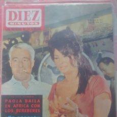 Coleccionismo de Revista El Jueves: SOFÍA LOREN Y VITORIO DE DICHA REVISTA DIEZ MINUTOS JUNIO 1964.... Lote 218961553