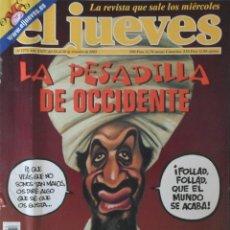 Coleccionismo de Revista El Jueves: REVISTA EL JUEVES - NÚMERO 1274 - 2001. Lote 219007695