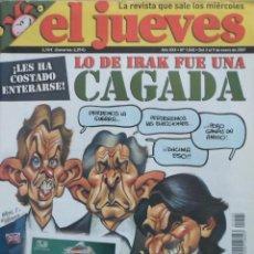 Coleccionismo de Revista El Jueves: REVISTA EL JUEVES - NÚMERO 1545 - 2007. Lote 219009666