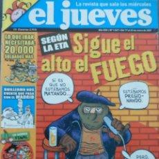 Coleccionismo de Revista El Jueves: REVISTA EL JUEVES - NÚMERO 1547 - 2007. Lote 219009776