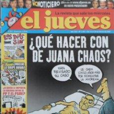 Coleccionismo de Revista El Jueves: REVISTA EL JUEVES - NÚMERO 1551 - 2007. Lote 219009907