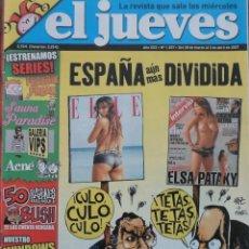 Coleccionismo de Revista El Jueves: REVISTA EL JUEVES - NÚMERO 1557 - 2007. Lote 219010180