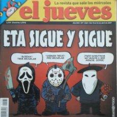 Coleccionismo de Revista El Jueves: REVISTA EL JUEVES - NÚMERO 1560 - 2007. Lote 219010316