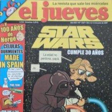 Coleccionismo de Revista El Jueves: REVISTA EL JUEVES - NÚMERO 1567 - 2007. Lote 219010588