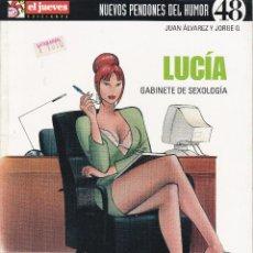 Collectionnisme de Magazine El Jueves: EL JUEVES, LUCIA GABINETE DE SEXOLOGÍA. Lote 219082467