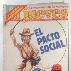 Collectionnisme de Magazine El Jueves: EL JUEVES 386 - 17 AL 23 OCTUBRE 1984 EL PACTO SOCIAL. Lote 219114586